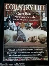 COUNTRY LIFE - DOG HOTELS - MARCH 25 2009