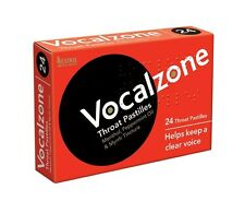 Vocalzone Throat Pastilles (24 Pastilles)