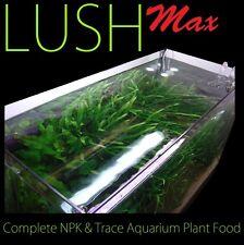 3 x LUSH Max Aquatic Fertiliser 1 litre Aquarium Plant Food Fish Tank Fertilizer