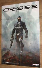 Crysis 2 & Shift 2: Unleashed NFS very rare double sided Poster 53x80cm