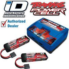 Traxxas 2990 EZ-PEAK DUAL Charger & (2) 3S 5000mAh 3s Lipo Battery COMBO