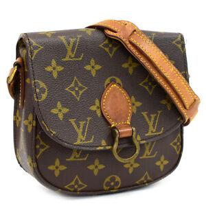 Auth LOUIS VUITTON Monogram Saint Cloud PM M51244 Crossbody Shoulder Bag AA28004