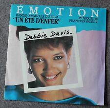 Debbie Davis - emotion / F Valery- BO du film un été d'enfer /OST, SP - 45 tours