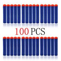 Lot 100 Nerf N-strike Elite Rampage/Retaliator Series Blasters Refill Clip Darts