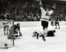 Bobby Clarke GOAL Philadelphia Flyers 1975 Stanley Cup Semifinals POSTER Print
