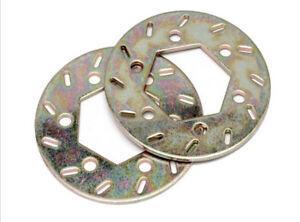 Metal brake pad discs for 1/5 scale hpi rovan km baja 5b parts