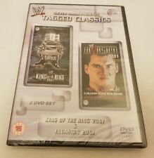 NEW & SEALED WWE Tagged Classics King Of The Ring 2001/Invasion 2001 DVD 01 WWF