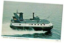 More details for postcard i.h.u. b.h.7. hovercraft southampton - cowes i.o.w. vintage 1960s