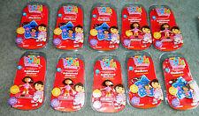 10 NEW Sealed DORA The EXPLORER FIGURE Mini CLOCK Magnet BOBBLE-HEAD CLOCKERS
