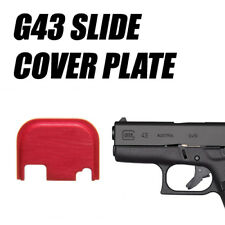 Replacement Slide Cover Plate for Glock G43 - RED