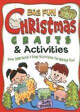 Big Fun Christmas Crafts & Activities (Williamson Little Hands Book)-ExLibrary