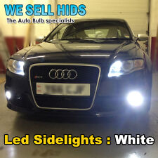 CANBUS LED SIDELIGHT BULBS AUDI A2 A3 A4 A6 A8 Q7 interior Golf mk5 gti RS4 r32