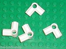 LEGO TECHNIC white Angle Connectors 6 ref 32014 / set 8289 7674 9748 65081 8009