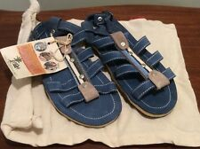 Sole Rebels Sandals Blue Size 5/5.5 M New With Tags