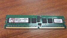LOT OF 4 PCS. KINGSTON KVR400D2D8R3/1G 1GB 400MHz DDR2 ECC Registered CL3 DIMM