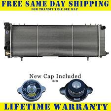 Radiator With Cap For Jeep Fits Cherokee Comanche 2.5 4.0 L4 4Cyl L6 6Cyl 1193WC
