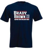 Tom Brady Antonio Brown New England Patriots 2020 T-Shirt