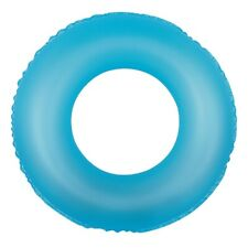 Inflatable Blue Round Swimming Pool Inner Tube Ring Float, 30-Inch
