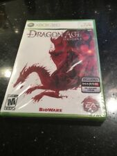 Dragon Age: Origins (Microsoft Xbox 360, 2009) Brand New Factory Sealed
