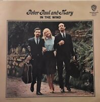 Peter Paul And Mary-In The Wind Vinyl LP.1963 Warner Bros WM 8142.Stewball+