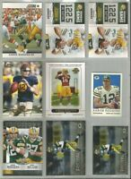 Aaron Rodgers Green Bay Packers 9 card 2012-2014 insert lot-all different