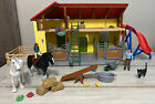 Schleich Farm World Horse & Stable Play Set With Animal And Accessories