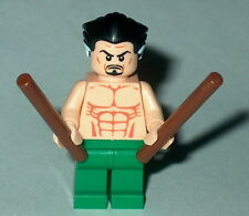 SUPER HERO #03 Lego Ra's Al Ghul' NEW Custom Batman ras Genuine Lego Parts