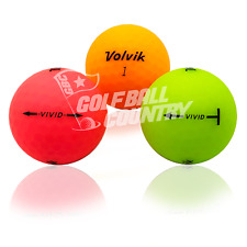 Volvik 24 Vivid Color Mix - Value (Aaa) Grade - Recycled (Used) Golf Balls