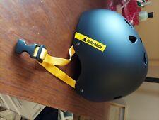 Rollerblade Downtown Helmet Black Skate Helmet Inline Skates half Shell Open Box