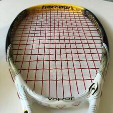 New listing Harrow Vapor Squash Racquet 140g Strung Weight 380mm Balance White Yellow Black