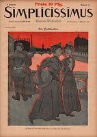 1897 Simplicissimus - Art Nouveau , , Extremely Rare
