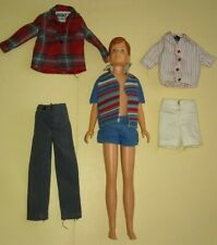 1960's Ricky Doll Bathing Suit Let's Explore Skateboard Outfits