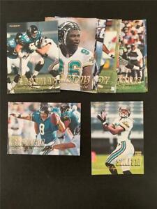 1997 Fleer Jacksonville Jaguars Team Set 13 Cards
