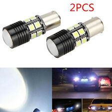 2x Canbus No Error 1156 BA15S P21W Car Tail Backup Reverse LED Light Bulb White