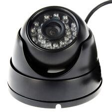 1MP  Surveillance USB Camera 24 IR Night Vision CMOS 720P In/Outdoor 8mm Lens BK