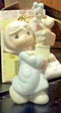 "Precious Moments - ""Bundles of Joy"" 1990 limited edition holiday ornament"