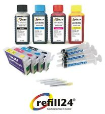 Kit recarga cartuchos para Epson T1281-T1284 cartuchos recargables  ( NON OEM )