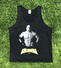 Rare VTG 90s Black FOTL Goldberg WCW Wrestling Tank Top T Shirt WWF WWE XL