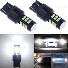 2x 1500LM 6000K White High Power 7440 7443 W21W LED Reverse Backup Light Bulbs