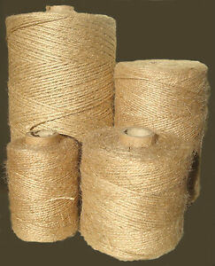 Garden Jute Twine Horticultural Rope Ball Line Packthread Various Sizes