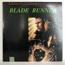 Criterion Collection Edition BLADE RUNNER Ridley Scott  Harrison Ford LaserDisc