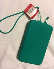 NWT Havaianas Beach Green Mini Bag Water Resistant Purse Wristlet Phone Case