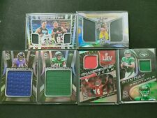 Sam Darnold 2020 Spectra Game Jersey Patch 5x Lots Chase Claypool /60 S. Watkins