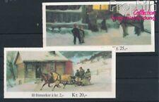 Norvège 894MH-895MH 2 carnet de timbres neuf 1983 Noël (8940421