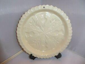 The Victorian Pottery 1869 Shortbread Mould Thistle Design