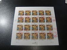 USA 2003 Sc#3766a $1.00 Wisdom Rockefeller Center Fullsheet of 20 Stamp VF Used