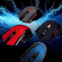 2.4Ghz Wireless Optical Gaming Mouse Mice + USB Receiver For PC Laptop Computer