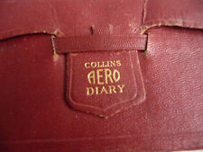 """Diary 1945 COLLINS AERO diary NEW NEW rare pilots must have item 5x3"""""""