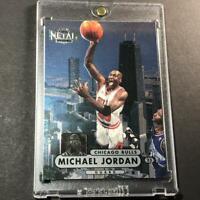 MICHAEL JORDAN 1997 SKYBOX METAL UNIVERSE #23 CHAMPIONSHIP FOIL CARD BULLS NBA