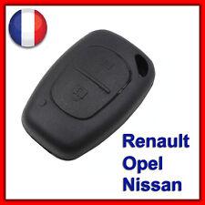 Coque Plip Clé Boitier Renault Trafic Kangoo Opel Master Vivaro Nissan Primastar
